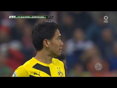 Shinji Kagawa vs Bayern Munich (A) DFB Pokal 14-15 | HD 720p (28/04/2015)