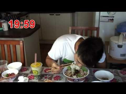 Asian Man vs. Food
