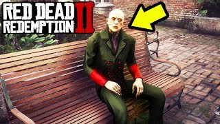 What Happens If You Let The Vampire Live in RDR2? RDR2 Easter Egg Vampire!