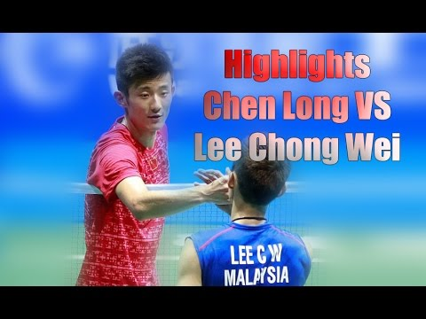 Highlights Final Lee Chong Wei vs Chen long - Asia badminton Championships 2016