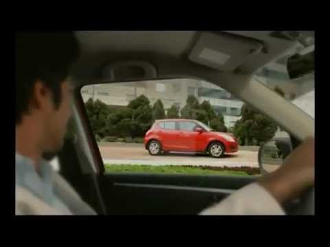 Maruti Swift funny commercial - Reflection