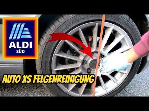 ALDI - Auto XS Felgenreinigung Test