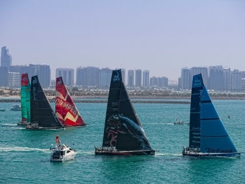 Etihad Airways in-Port Race preview - Volvo Ocean Race 2011-12
