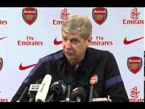 ARSENAL: Arsene Wenger Press Conference Pre Manchester United 28/04/2013