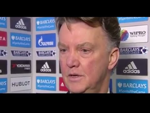 Louis van Gaal - Chelsea 1-1 Manchester United - Post Match Interview