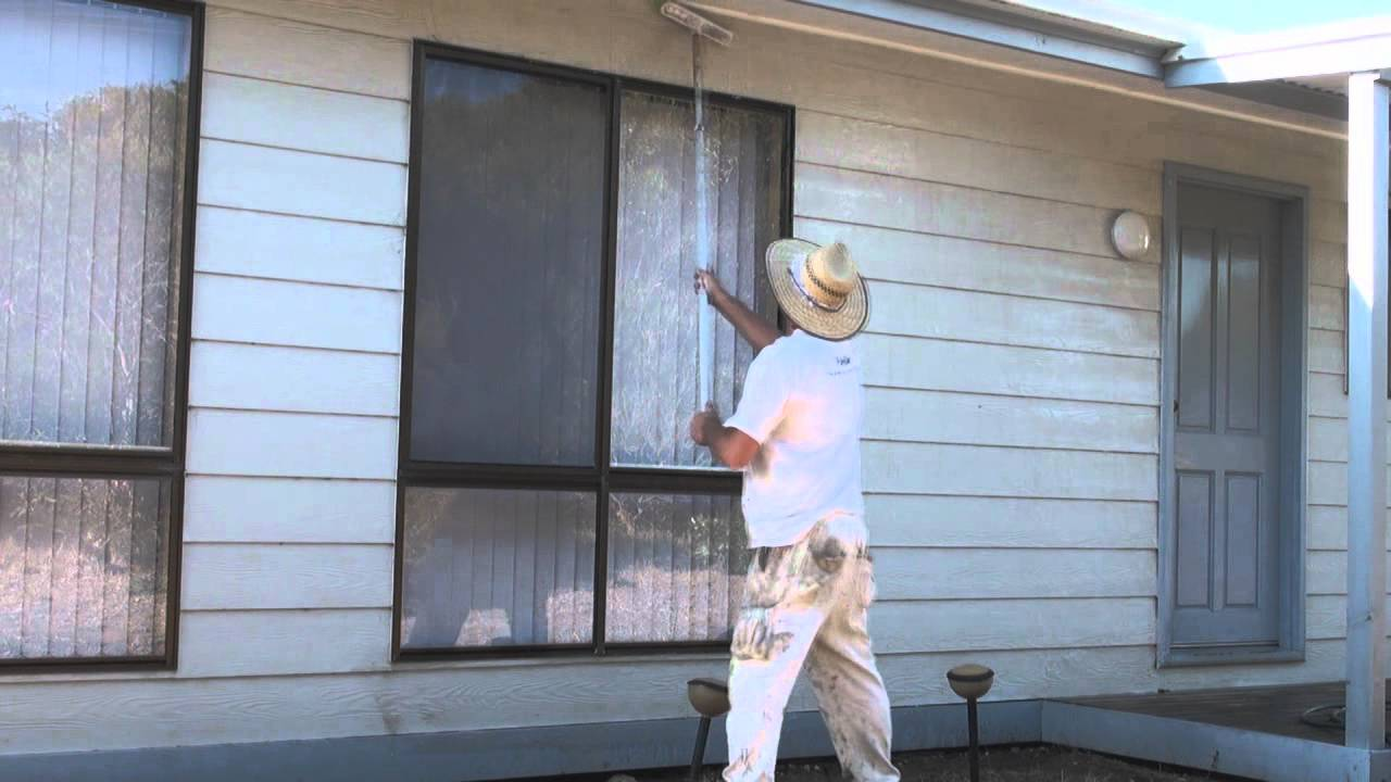 House washing how to wash or clean walls before painting - How to clean house exterior before painting ...