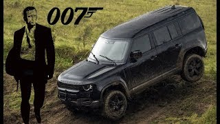 "2020 Land Rover Defender in New Bond Film ""No Time To Die"""
