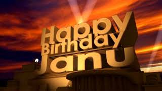 Happy Birthday Janu