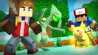 1ST GYM LEADER TRAINING IN POKEMON GO! (Minecraft Roleplay)