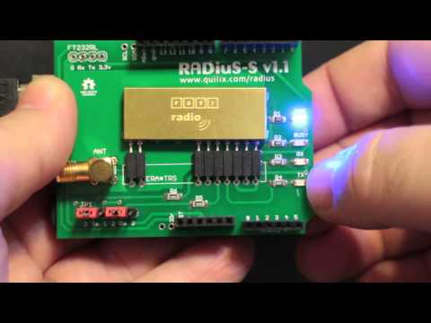 RADiuS Arduino Shield Layout and Configuration