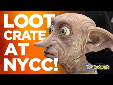 Loot Crate at NYCC Interview and Inside Look at their NYCC Booth