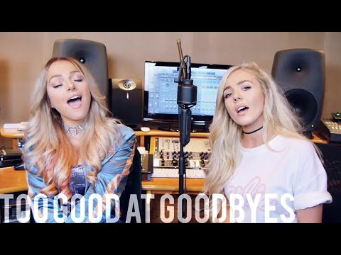 Sam Smith - Too Good At Goodbyes (Emma Heesters & Samantha Harvey Cover)