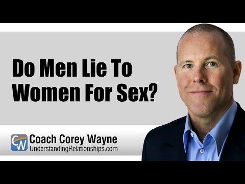 Do Men Lie To Women For Sex?