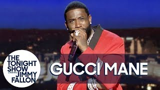"Gucci Mane Performs a Trap Version of ""The Eyes of Texas"""
