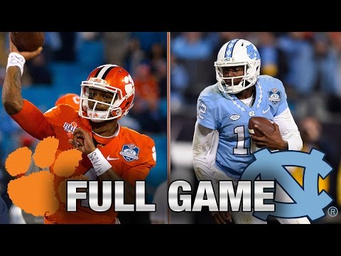 Clemson vs. North Carolina: Full Game | 2015 ACC Football Championship