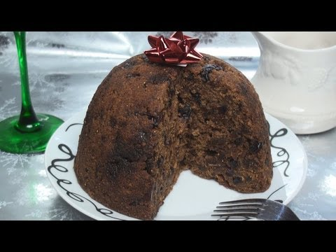 HomeMade Christmas Pudding - Vegetarian friendly