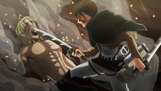 Download Lagu shingeki no kyojin season 3「AMV」- Zombie Gratis STAFABAND