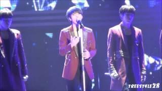 150222 INFINITE JAPAN TOUR DILEMMA Diamond Japanese Ver  Woohyun Fancam