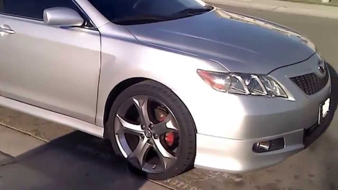 Camry With Venza Rims Youtube