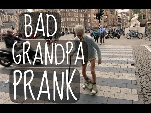 BAD GRANDPA PRANK!   ThatcherJoe