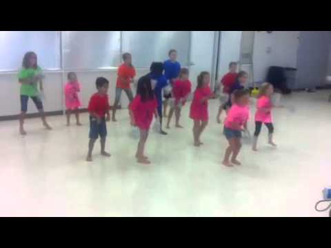 Junior Jazzercise 2013 Pom Pom Routine video
