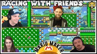 Races With Ryukahr, Feeny, and Cliffy: Super Mario Maker