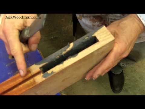 18 How To Glue Up Mortise and Tenon Joints - SOLID WOOD DOOR SERIES  - Video 8