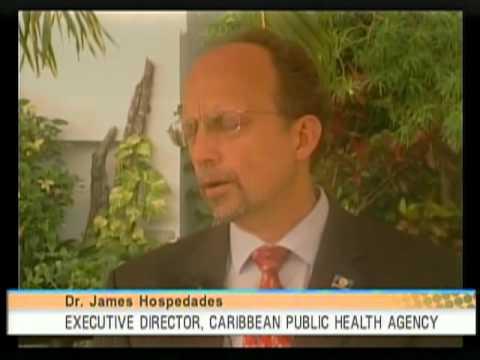 Dr James Hospedales   Executive Director of Caribbean Public Health Agency CARPHA