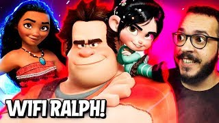 WIFI RALPH : Quebrando a Internet! - Imaginago