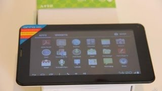 Review tablet ORRO A950 2.5G
