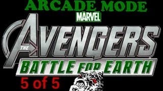 Marvel Avengers: Battle for Earth -Kinect Arcade Playthrough pt 5