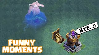 COC Funny Moments Montage | Glitches, Fails, Wins, and Troll Compilation #62