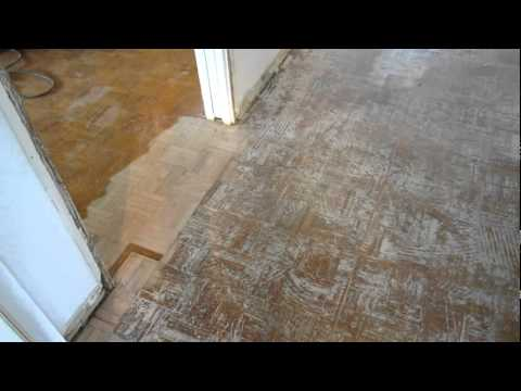 Refinishing Lew Amp Kim S Parquet Floor Youtube