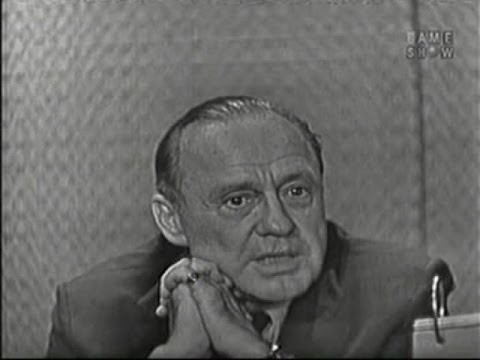 What's My Line? - Jack Benny; Steve Allen [panel]; Jayne Meadows [panel] (Jun 21, 1959)