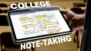 iPad Pro + College Note-taking | My Experience! | Goodnotes 5