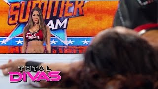 Nikki Bella turns on Brie Bella at SummerSlam: Total Divas, January 4, 2015