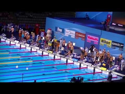 4x100 Freestyle relay men, Final. Swimming World Championships BCN 2013. France Gold Medal