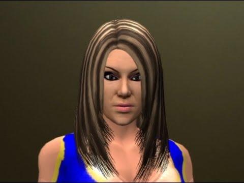 WWE '12 Velvet Sky CAW Formula by RAIDA NGP & mikemay04