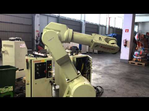 Kawasaki FS30L industrial robot wit C control