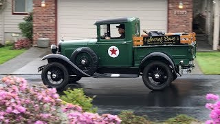 Uses of a 1931 Ford Model A Pickup - Still Trucking Along Strong!