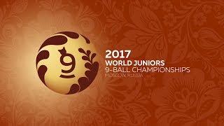 Day 2 World Juniors 9-ball Championship 2017 TV9