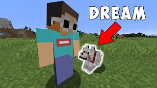 Minecraft, But My Friend Is A Dog...
