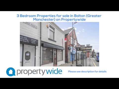 3 Bedroom Properties for sale in Bolton (Greater Manchester) on Propertywide