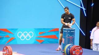 London 2012 Olympics. Weightlifting