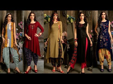 Designer Kurti Designs | Latest Embroidery Kurti Designs|Latest Designer Kurti 2018|| Trendy India 3