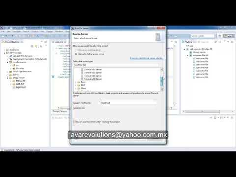 Tutorial JSP'S y Servlets deploy aplicación web con Eclipse en Apache TomCat