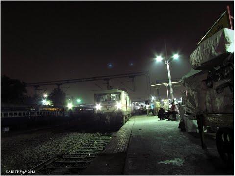 117: IRFCA: Indian Railways Nizamuddin to Bangalore Rajdhani Express Full Journey Compilation Part1