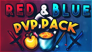 Minecraft Red and Blue v2 Pack Release [UHC/PvP Pack][1.7][1.8]