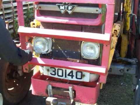 Removing My Massey Ferguson 135 Bonnet