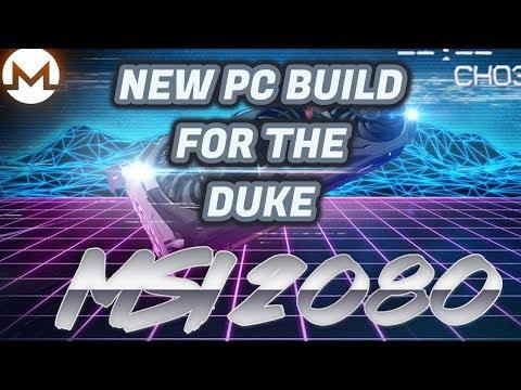 New 2080 Mini Computer Build Preparing for Thursdays release